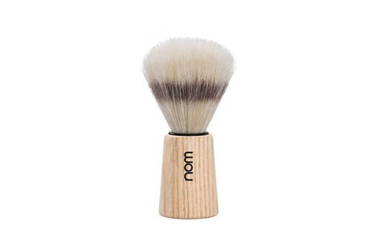 Štetka na holenie THEO - jaseňové drevo