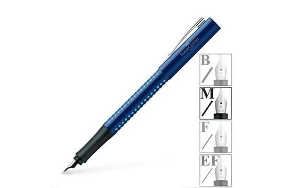 Plniace pero - modré (svetlé bodky)