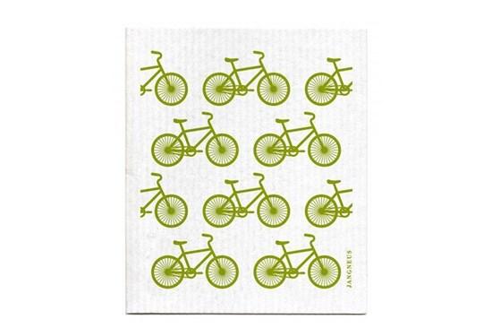 Hubka - malé bicykle zelené