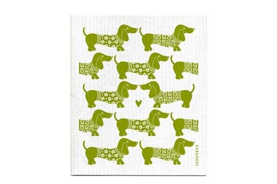 Hubka - jazvečíky zelené