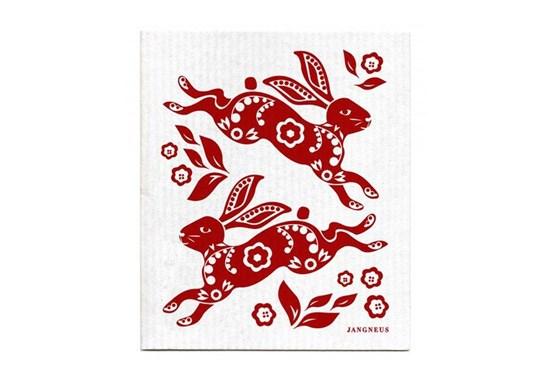 Hubka - králiky červené