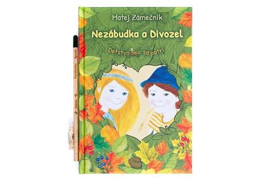 Nezábudka a divozel - kniha so semiačkami