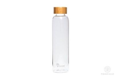 Obrázok pre výrobcu Sklenená fľaša Bamboo MS - 550ml