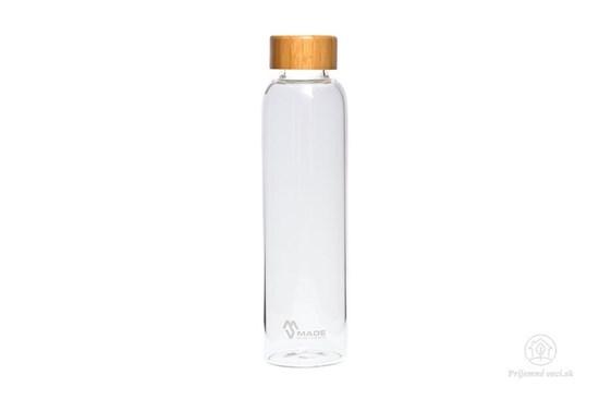 Sklenená fľaša Bamboo MS - 550ml