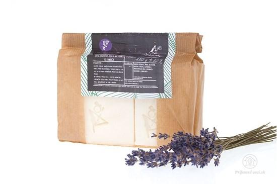 Non-toxic mydlo na pranie levanduľa - tuhé - 4ks