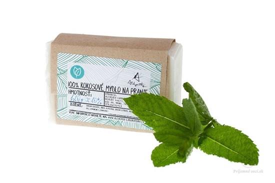 Non-toxic mydlo na pranie mäta - tuhé