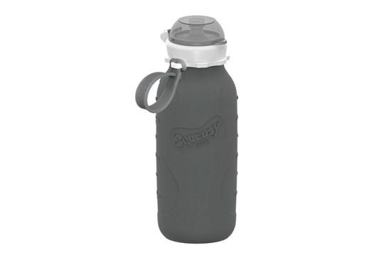 Silikónová fľaša sivá - 480ml