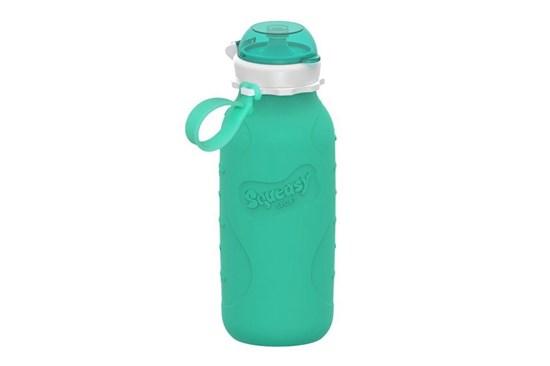 Silikónová fľaša tyrkysová - 480ml