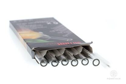 Obrázok pre výrobcu Sklenená slamka Simax 15cm (6ks)