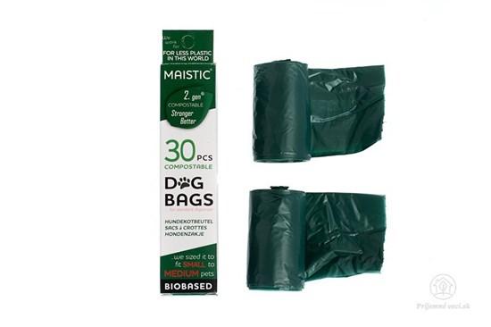 Kompostovateľné vrecká pre psíkov (30ks)