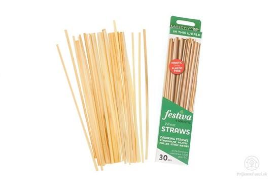 Slamky zo pšenice (30ks)