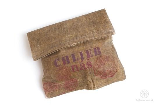 Voskované vrecko na chlieb Chlebag - červený