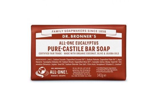 Kastílske mydlo Dr. Bronner´s - eukalyptus