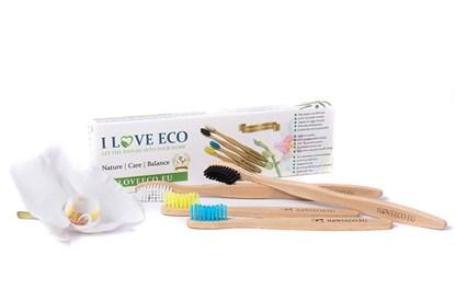 Obrázok pre výrobcu Bambusová zubná kefka - rodinné balenie (4ks)