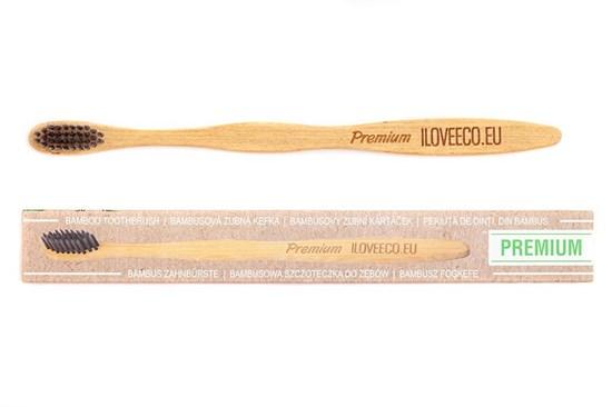 Bambusová zubná kefka Premium