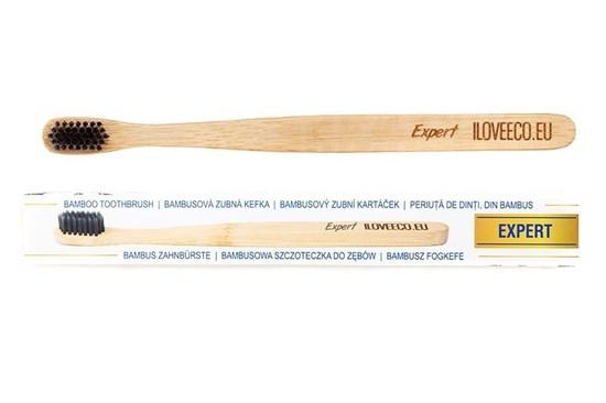 Bambusová zubná kefka Expert