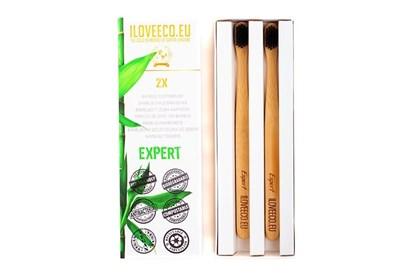 Obrázok pre výrobcu Bambusová zubná kefka dvojbalenie - Expert