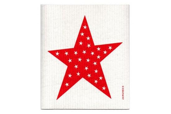 Hubka - hviezda červená