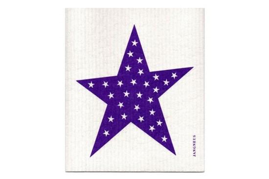Hubka - hviezda fialová