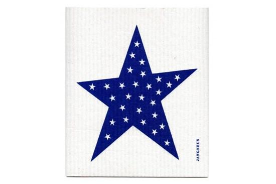 Hubka - hviezda modrá
