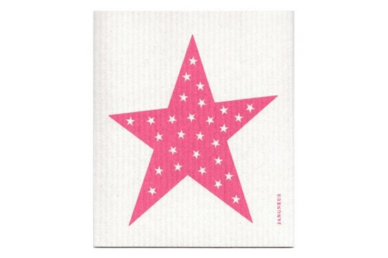 Hubka - hviezda ružová