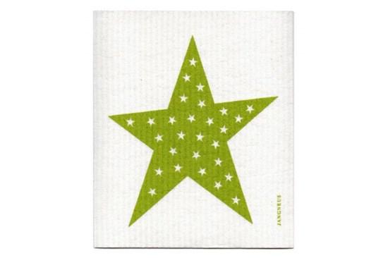 Hubka - hviezda zelená