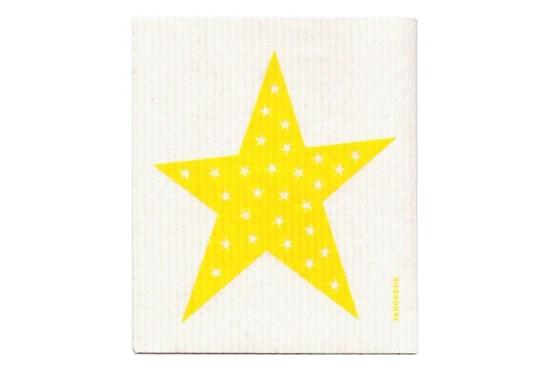 Hubka - hviezda žltá
