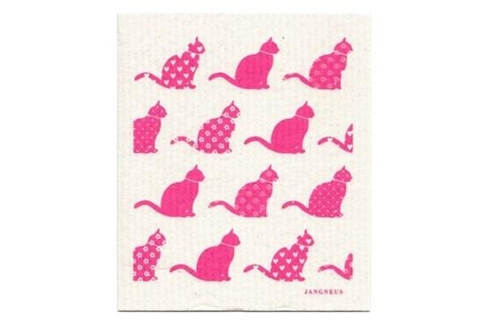 Hubka - mačky ružové