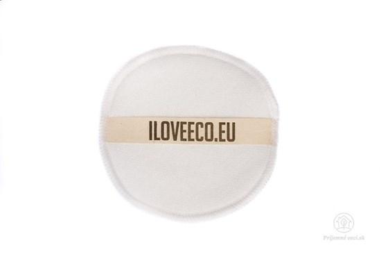 Odličovací tampón Iloveeco - biely