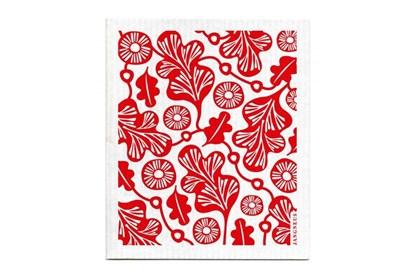 Obrázok pre výrobcu Hubka - dubový list - červený