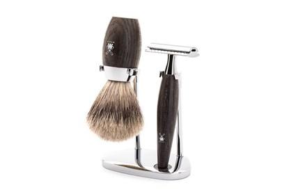 Obrázok pre výrobcu Set na holenie - jazvec a močiarny dub