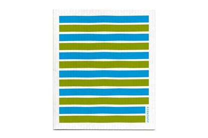 Obrázok pre výrobcu Hubka - pásiky zeleno-tyrkysové
