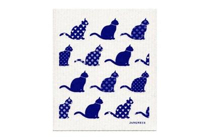 Obrázok pre výrobcu Hubka - mačky modré