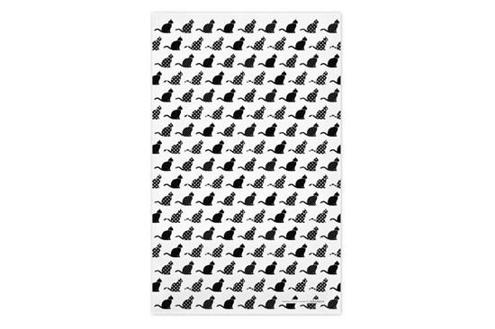 Utierka - mačky čierne