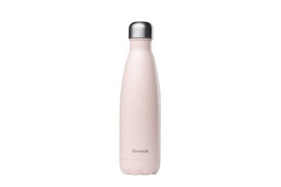 Termofľaša Qwetch - 500ml - pastelová ružová