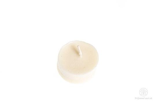 Čajové sviečky zo sójového vosku - bez obalu (10ks)