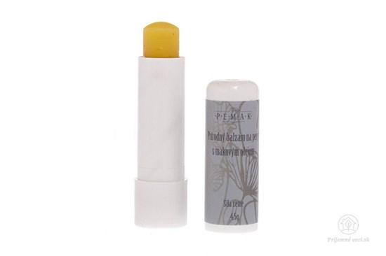 Balzam na pery s makovým olejom - so zrnkami maku