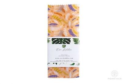 Obrázok pre výrobcu Vegan voskovaný obrúsok malý - rastlinky