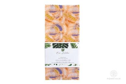 Obrázok pre výrobcu Vegan voskovaný obrúsok veľký -rastlinky