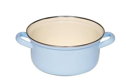 Obrázok pre výrobcu Smaltovaný hrniec nízky - 1,5L - modrý