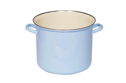 Obrázok pre výrobcu Smaltovaný hrniec vysoký - 3L - modrý