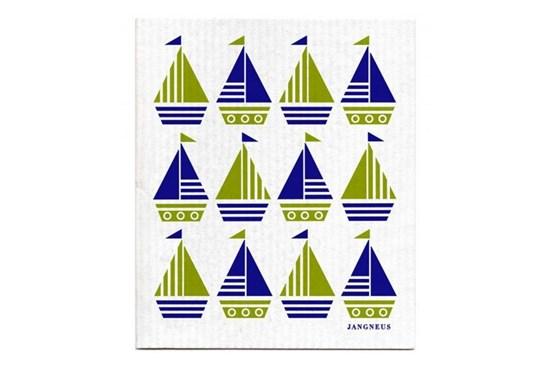 Hubka - loďky zelené