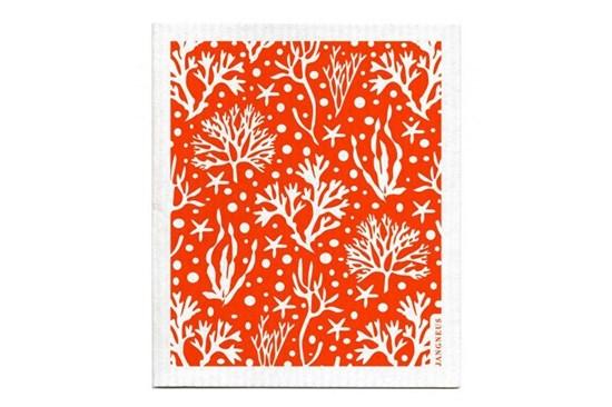 Hubka - koral oranžový
