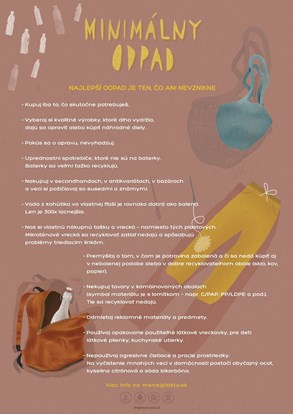 Obrázok pre výrobcu Edukačný plagát veľký (A2) - miminalizácia odpadu