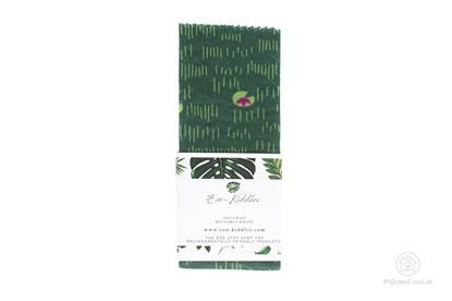 Obrázok pre výrobcu Vegan voskovaný obrúsok veľký -lekná
