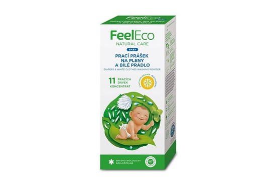 Feel Eco prací prášok na plienky a bielu bielizeň - 660g