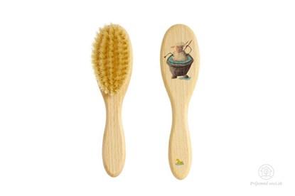 Obrázok pre výrobcu Kefka na vlasy pre deti - ovečka v kúpeli
