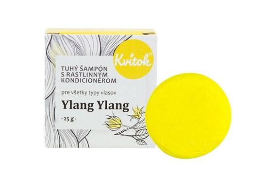 Tuhý šampón Kvitok - ylang ylang 25g