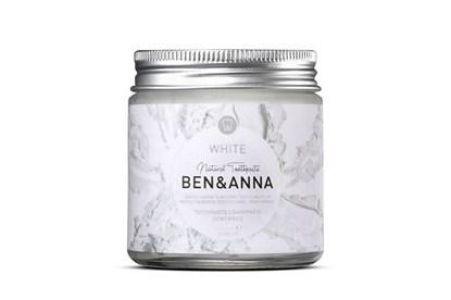 Obrázok pre výrobcu Prírodná zubná pasta BEN&ANNA v skle 100ml - biela