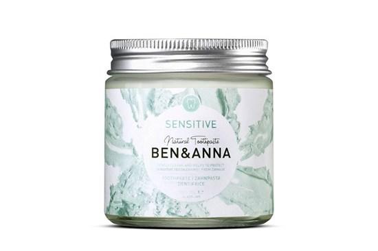 Prírodná zubná pasta BEN&ANNA v skle 100ml - sensitive